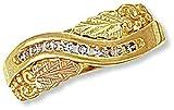 Landstroms Ladies 10k Black Hills Gold Diamond Ring - 02303X