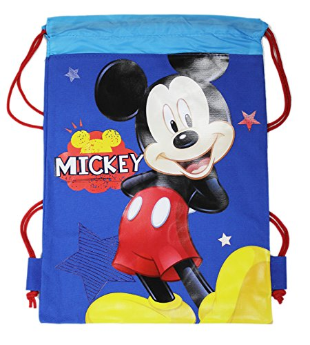 Disney's Mickey Mouse Blue Background w/Stars Drawstring ()