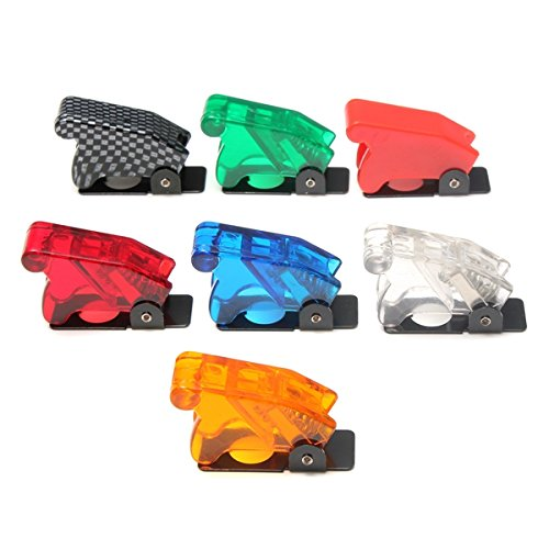 Maintenance & Repair Tools - Toggle Switch Guard Cover Safety Flip Light Power Tool - Toggle Switch Waterproof Boot Plastic Safety Flip Cover Cap Multi-Color - Toggle Switch Safety Cover - Sunglasses Template Printable
