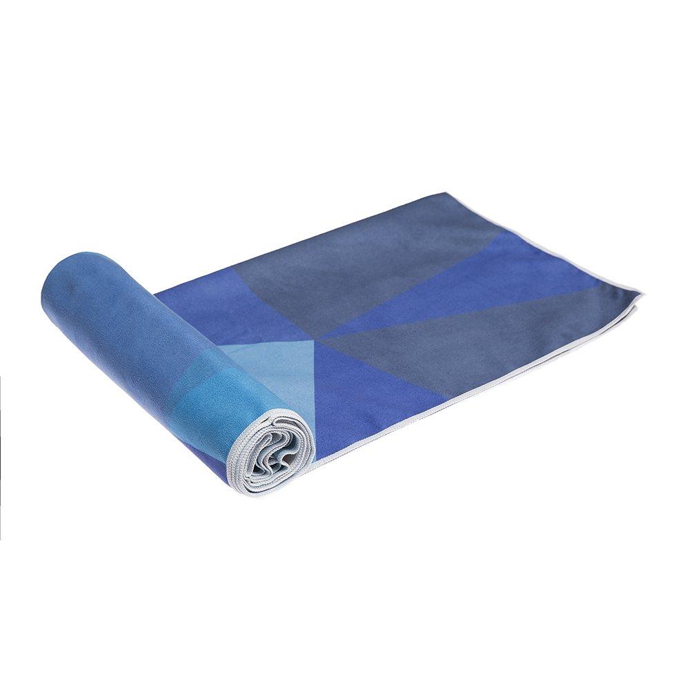 Bikram Sport Mat Sized THE HOT YOGA TOWEL Quick Dry Ashtanga Ideal for Hot Yoga Eco Printed Premium Non Slip Colorful Towel Designed in Bali Travel! Yoga Design Lab
