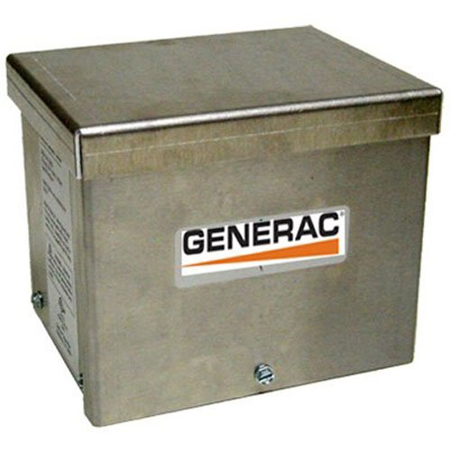 Generac 6343 30-Amp 125/250V Raintight Aluminum Power Inlet ()