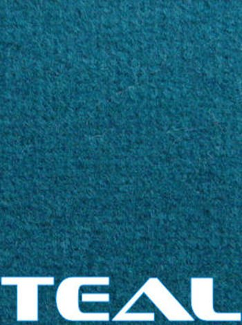 30' Bass (Marine Outdoor Bass/Pontoon Boat Carpet/16 oz (Teal, 6'x30'))