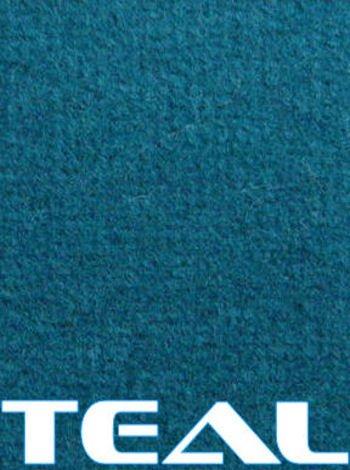 Marine Outdoor Pontoon Boat Carpet/20oz/10colors (Teal, 8-1/2'x20)