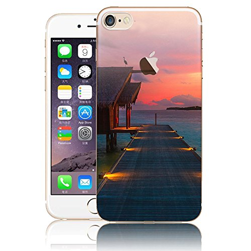 Funda para iPhone 6 Plus, Vandot TPU Silicona Pintado Funda para iPhone 6s Plus Patrones de Pintura Case Suave Flexible Silicone Gel Paisaje Cajas de Teléfono móvil para iPhone 6 Plus / 6s Plus 5.5 - Scenery 07