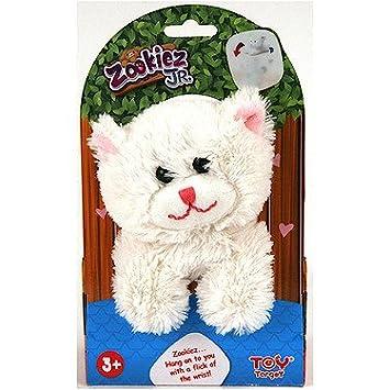 dfd6b4bee40e Zookiez 20cm Junior Soft Toy - Cat  Amazon.co.uk  Toys   Games