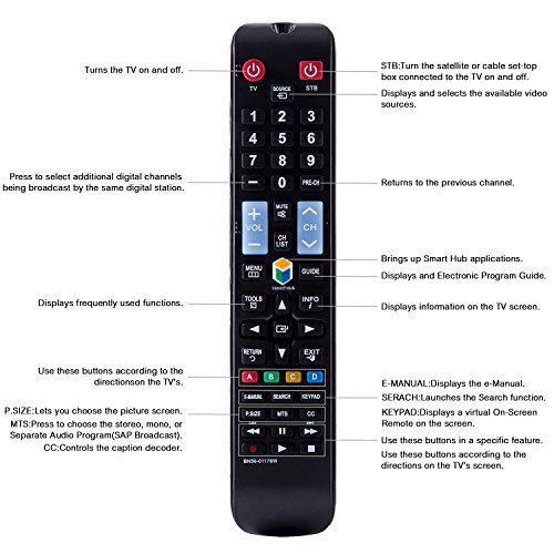amazon com loutoc new smart tv remote for samsung remote control rh amazon com samsung smart tv series 5 remote code samsung smart tv remote code