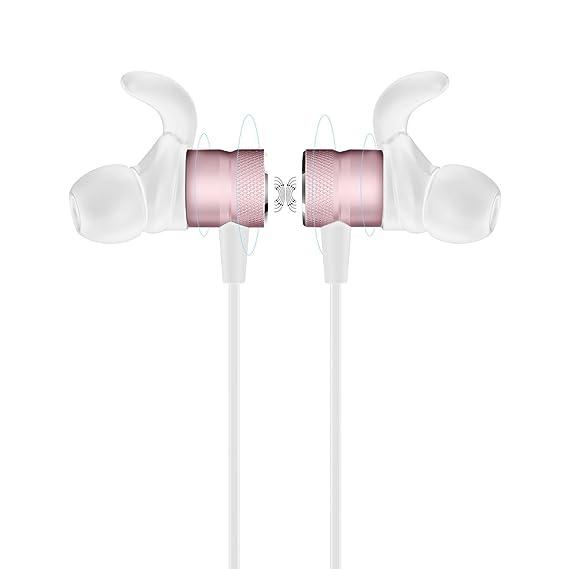 Auriculares magnéticos Deportivos con micrófono para Auriculares inalámbricos HOCO ES8: Amazon.es: Electrónica