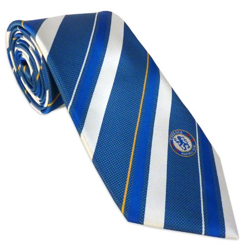 Chelsea Football Club Official Soccer Gift Club Crest Tie