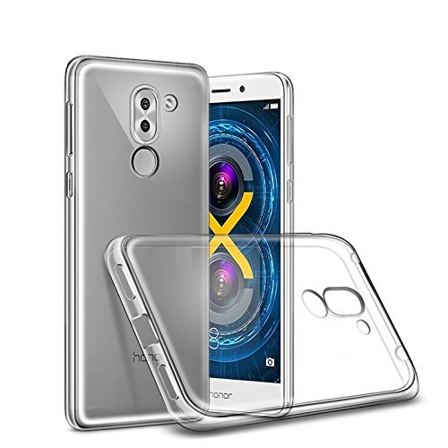 online store ddb1e ca596 SmartLike Transparent Back Cover for Huawei Honor 6X: Amazon.in ...
