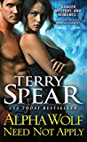 Alpha Wolf Need Not Apply (Silver Town Wolf Book 6)