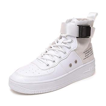 38b3c85d0916f Shangwu zapatillas altas para mujer zapatillas de hip hop para mujer zapatos  de chapado jpg 352x355