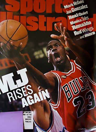 Sports Illustrated - June 15, 1998 Michael Jordan gliding toward the basket during the 1998 NBA - Game Finals 1998 Nba