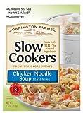 Orrington Farms Slow Cookers Chicken Noodle Soup, 2.5 Ounce (Pack of 12)