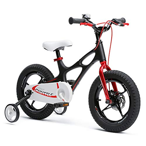 Space Shuttle Black 16 inch Magnesium Kid's Bicycle (Bicycles Trek Bmx)