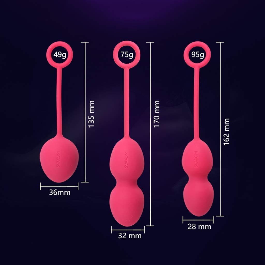 FurnitureShop UK Juego de 3 Silicona Bolas de Silicona 3 para masajear, Impermeables y Ajustadas para Mujeres b9e10e
