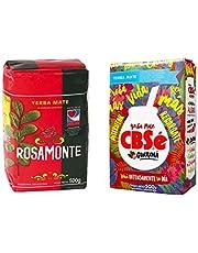 Yerba Mate te set ♦ Rosamonte 500 g ♦ CBSé Energia 500 g
