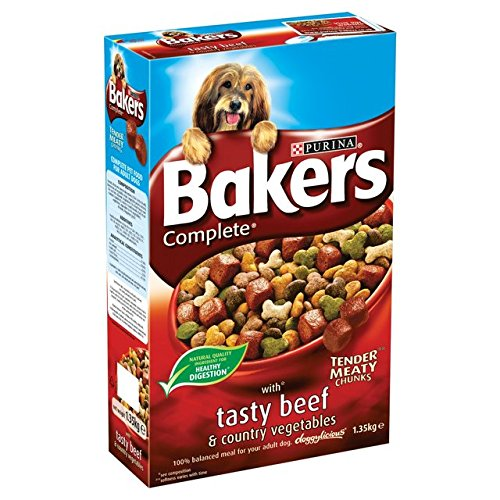 Bakers Complete Pienso para perros Beef & Country Verduras 1.35kg