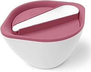 monbento - MB Lib pink Blush leakproof bowl holds soups salads pasta - BPA free - Food grade safe…