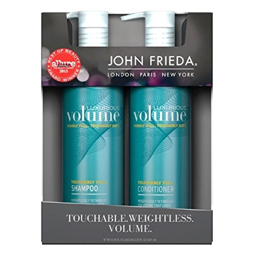john frieda luxurious volume shampoo conditioner health world each. Black Bedroom Furniture Sets. Home Design Ideas
