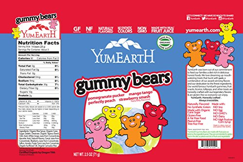 YumEarth Organics Tropical Fruit Snacks