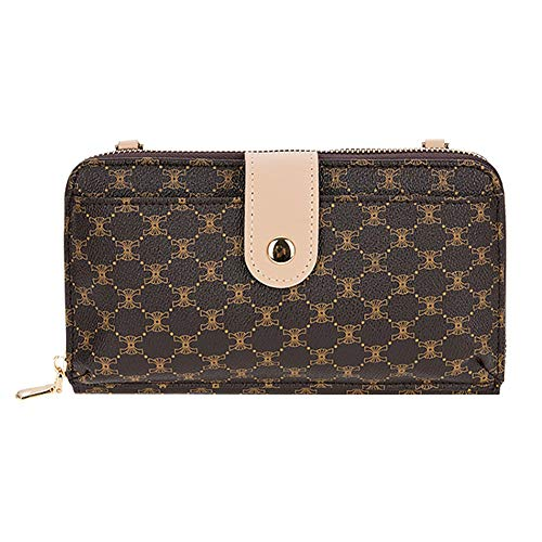 VF Mini Zip Around Smartphone Clutch Handbag (beige)