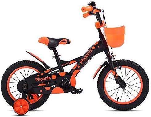 YSA キッズバイク折りたたみ式子供用自転車、12インチ、14インチ、4色、スタビライザー、マッドガード、ブラケット自転車