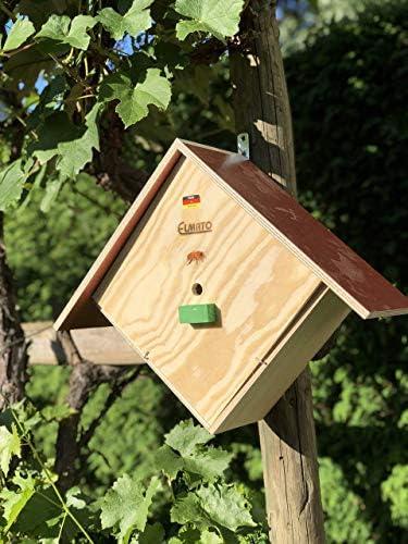 Elmato 10229 Hummelhotel, Insektenhaus,Bienenhaus