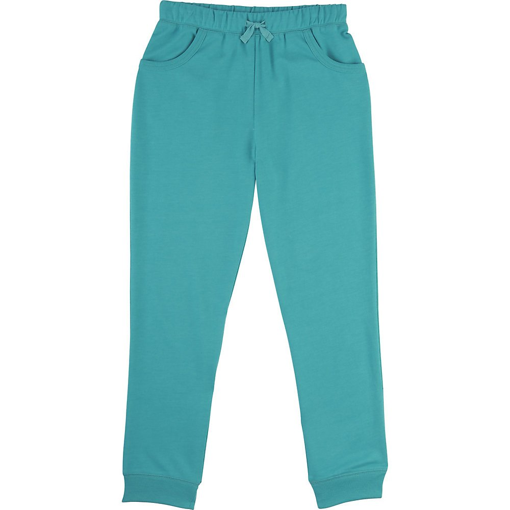 French Toast Big Girls' French Terry Jogger, Drift Turquoise Heather, M (7/8)