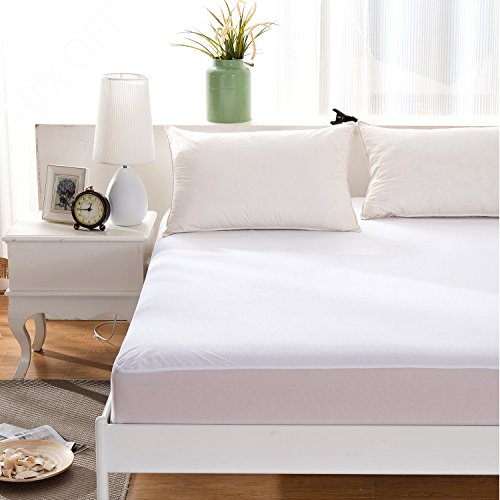 Balichun Waterproof Mattress Pad Protector Cover Fitted 8