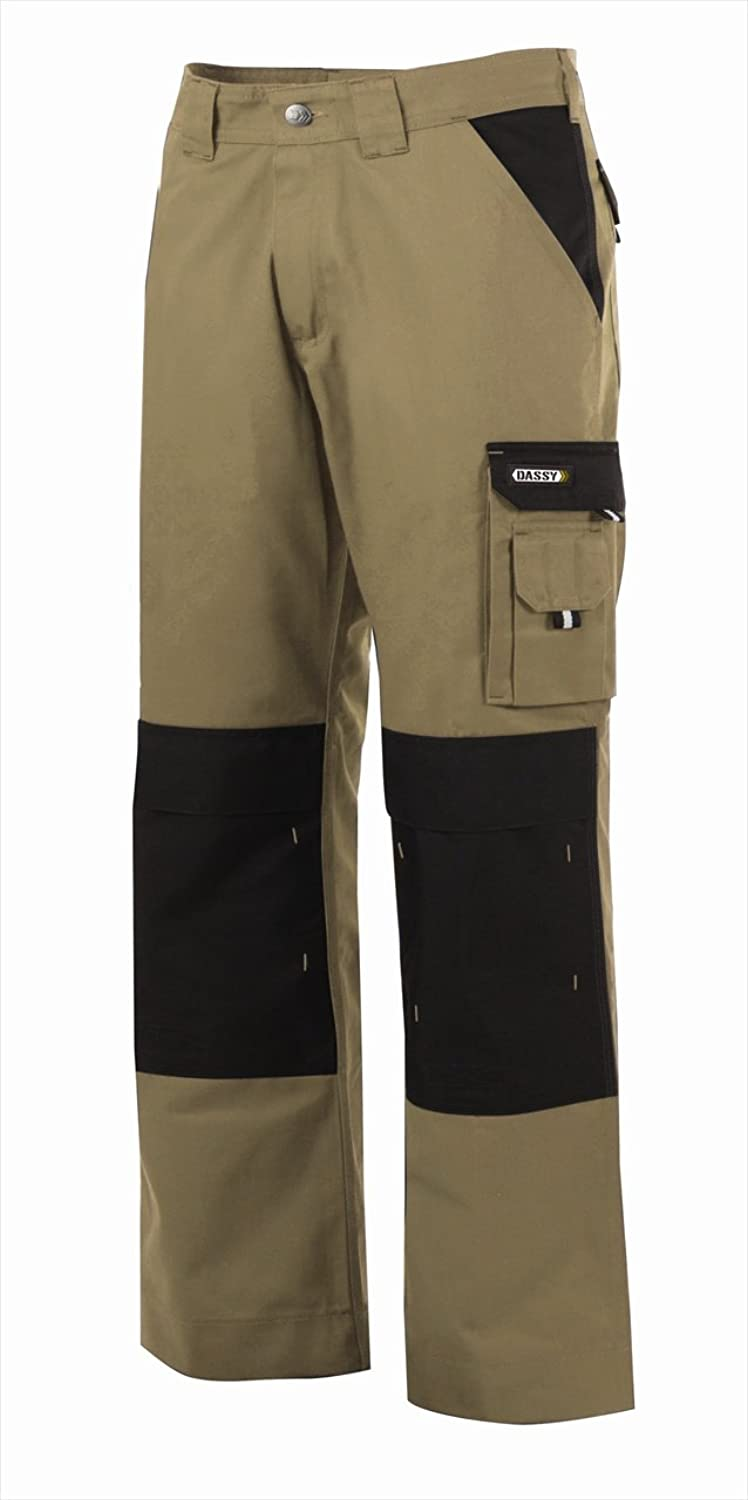 (46)DASSY TROUSER BOSTON PESCO61 (245 gr) BEIGE/BLACK