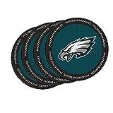 NFL Philadelphia Eagles Neoprene Ring of Honor Coasters, Set of 4