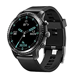 Tinwoo Smart Watch for Android Phones, iOS Phones Fitness Tracker with Heart Rate Monitor, Bluetooth Sports Monitor…