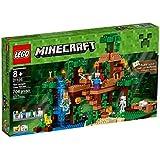 LEGO Minecraft 21125 The Jungle Tree House Playset