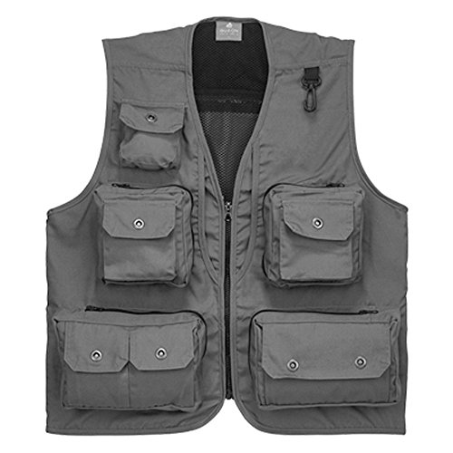 Hjgbeds boy mens fishing vest photographer vest wild for Fishing vest amazon