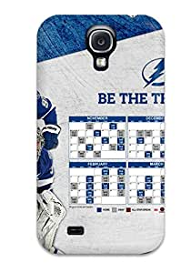 Galaxy S4 TOkDvRQ9685alxvK Tampa Bay Lightning (42) Tpu Silicone Gel Case Cover. Fits Galaxy S4
