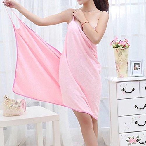 Spa Towel Dress Bath Bath 910 BX Rose Straps Magic Wrap Soft Towel Skirt Cloth Bath Microfiber For Skirt Bath Wearable Beach Womens Shoulder Bathrobe Lady Red Bathrobe Peach Women Skirt WAw6Uq0xHF