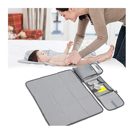 Prakal My Cub Baby Changing Pad, Portable Diaper Changing Pad for Travel, Waterproof Infant Changing Station
