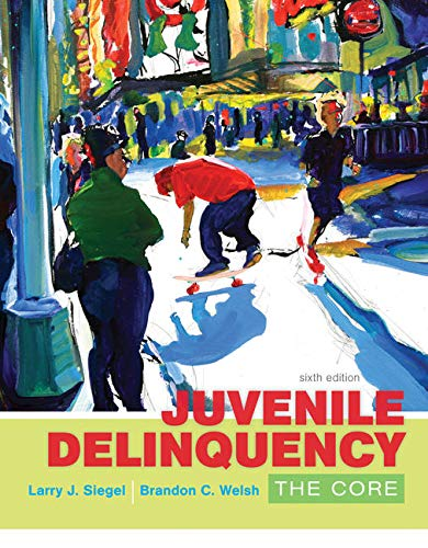 Pdf Education Juvenile Delinquency: The Core