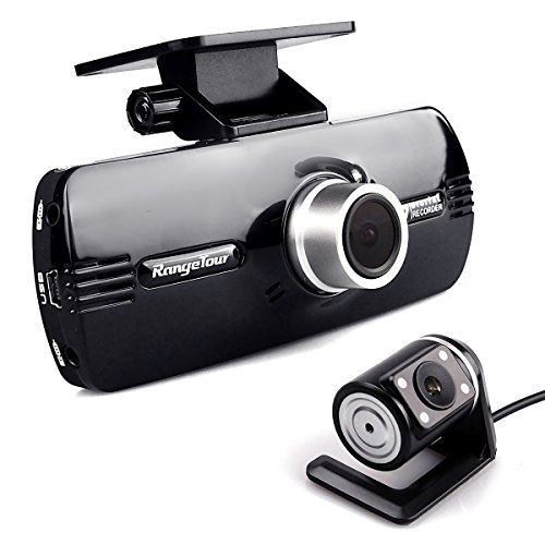 Dash Cam,Dual Lens Front and Rear Camera. Driving Video Recorder Full HD 1080P,Car DVR Camcorder Night Vision ,170 Degree Wide Angle,Loop Recording,G-Sensor