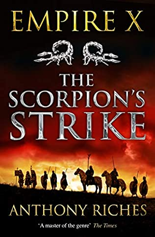 book cover of The Scorpion\'s Strike
