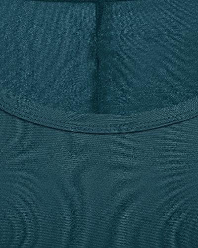 Básico Camisero Green Vestido Manga Dark Bbonlinedress Corto Casual Mujer Larga UaAnXp7xq