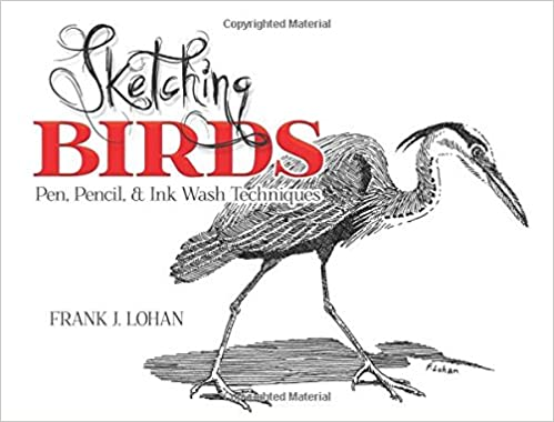 and Ink Wash Techniques Pencil Sketching Birds Pen