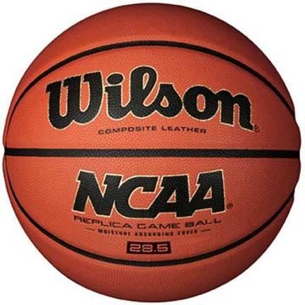 ウィルソンNCAA REPLICAゲームバスケットボール(サイズ6 ) B004DPWOXE
