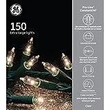 GE Pro-Line ConstantON 150 Extra Large Lights - 30% Brighter Than Standard Miniature Lights