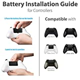 Ericy Xbox Controller Charger Station,Dual Charging