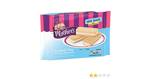 Amazon.com : Mothers Cookies, English Tea, 16 oz Tray : Grocery & Gourmet Food