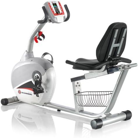 Schwinn 240 reclinado Bicicleta estática: Amazon.es: Deportes y ...