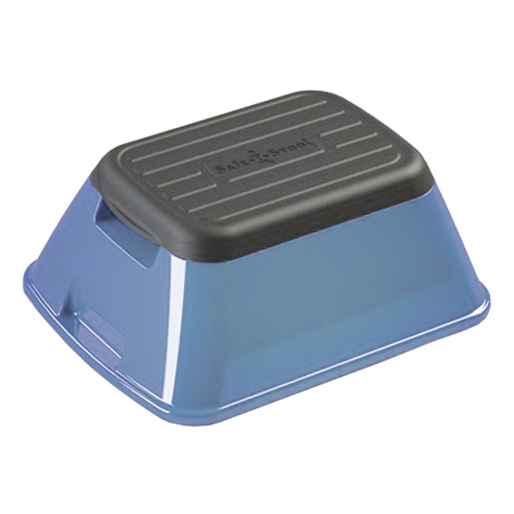 Most Versatile Stool in America GLOSSY BLUE Safe-T-Stool the Safest