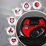 Ultrasport-F-Bike-Advanced-Cyclette-Pieghevole-con-Display-LCD-Livelli-di-Resistenza-Regolabili-con-sensori-di-Battito-Manuale-per-Allenatori-e-Anziani-Unisex-Adulto