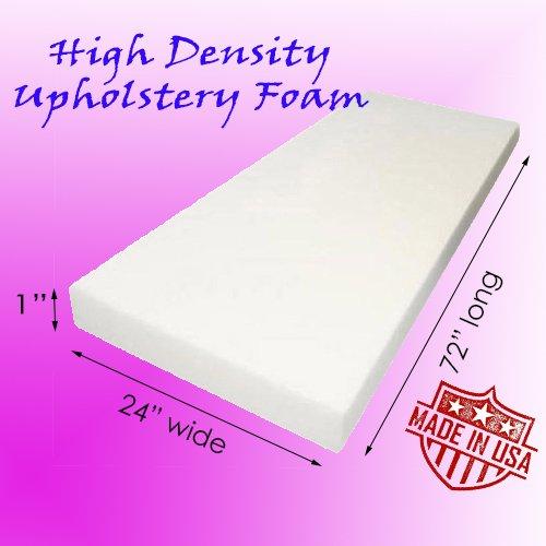 AK TRADING Upholstery High Density Cushion, Seat Replacement Foam Sheet/Padding 1